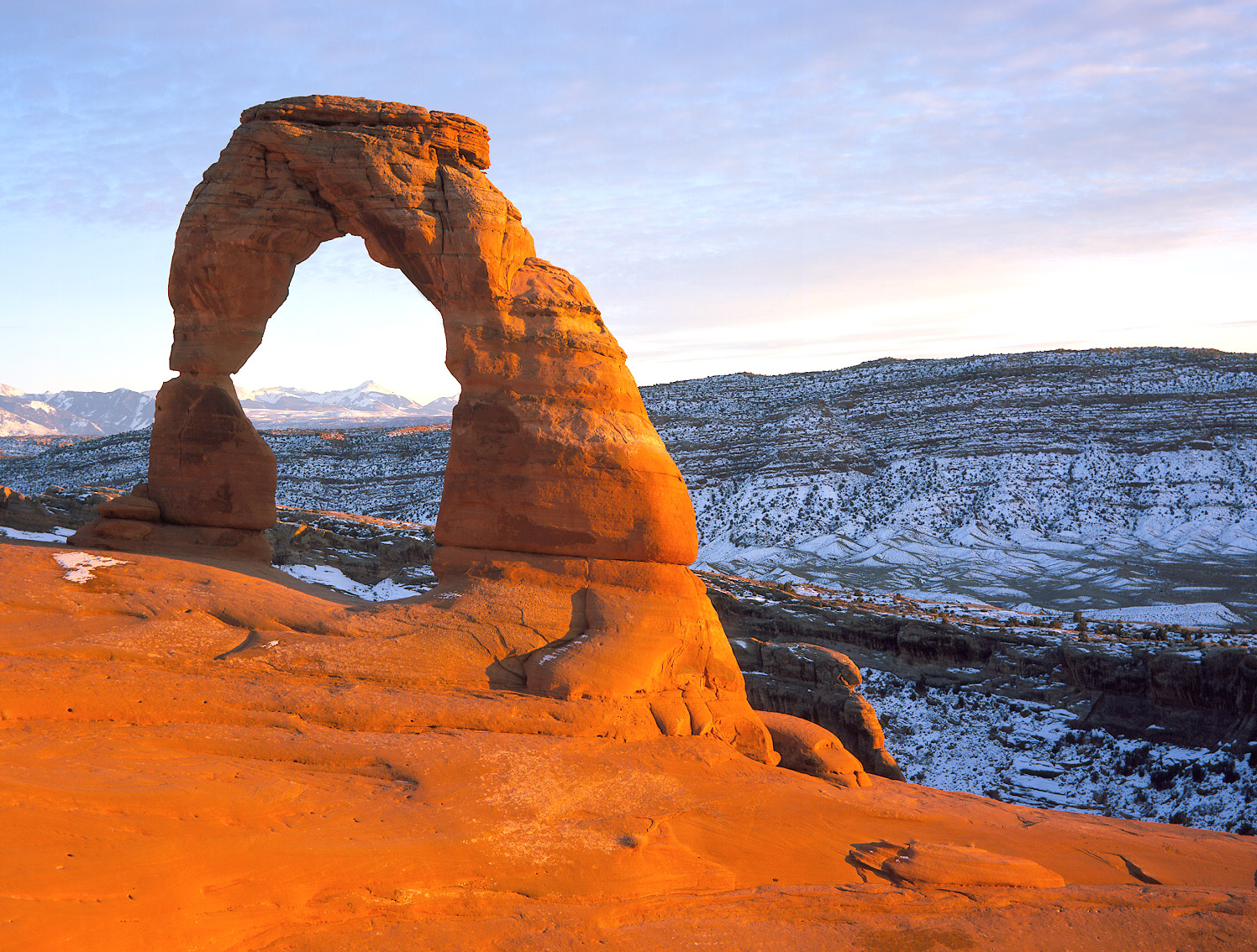 Delicate Arch Arches National Park NPS photo by Neal Herbert