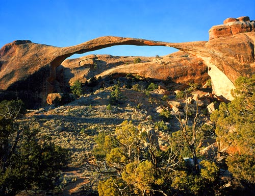 Landscape Arch Arch Arches National Park NPS photo by Neal Herbert