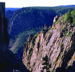 Black Canyon of the Gunnison Picture by NPS