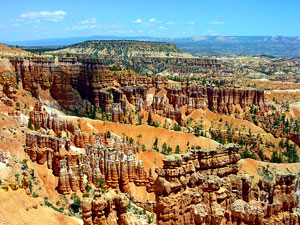 View North from Inspiration Point at Bryce Canyon National Park picture by USGS