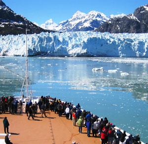 Margerie Glacier, Glacier Bay National Park Picture by T. VandenBerg NPS