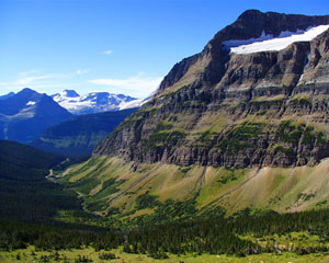 Siyeh Bend Area of Glacier National Park Photo by NPS