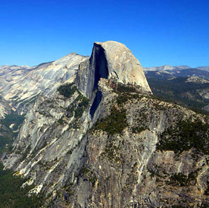 Half Dome in Yosemite National Park NASA Photo
